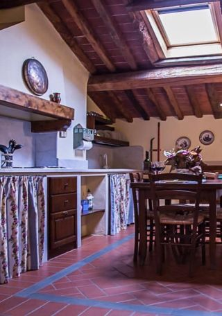 kitchen, holiday apartment with two bedrooms, Tuscany