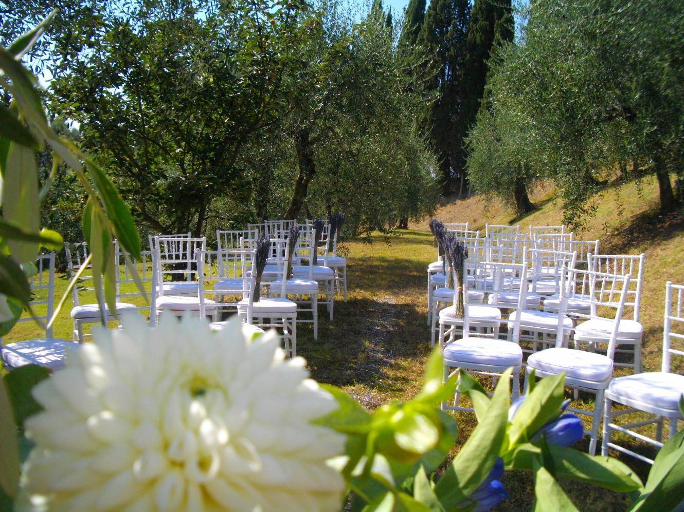 Location in Tuscany for weddings