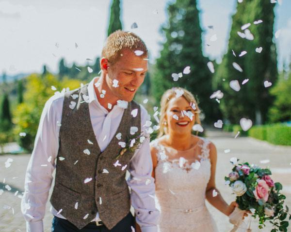 wedding couple, destination wedding in Tuscany