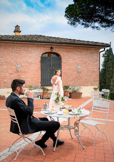 wedding location Villa Tuscany