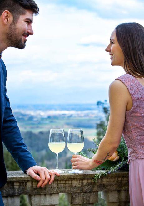 wine experience in Tuscany, San Miniato